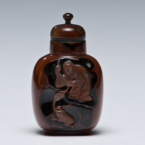 Hardstone Chinese Snuff Bottle