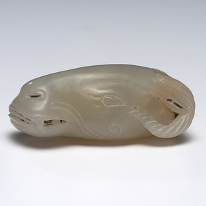 Chinese Carved Jade Water Buffalo