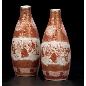 Japanese Kutani Vases