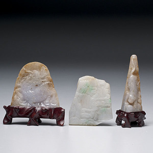Group of Chinese Jade Carvings