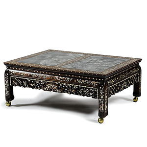 Chinese Export Inlaid Table