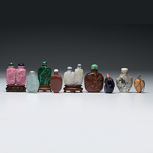 Fine Collection of Chinese Snuff Bottles