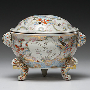 Japanese Porcelain Censor