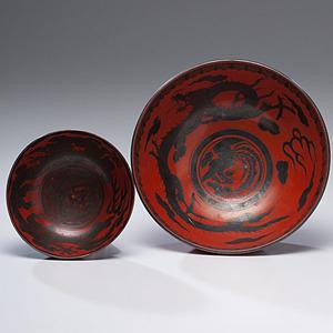 Japanese Dragon Bowl