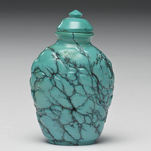 Turquoise Chinese Snuff Bottle