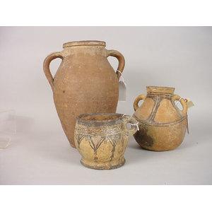 Three Pieces of Ethnographic Pottery,