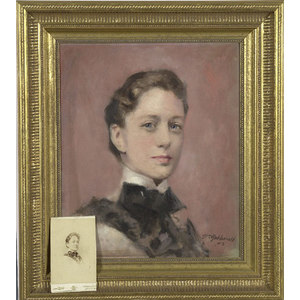 Portrait of a Young Lady by William Gebhardt,
