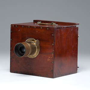 French Whole Plate Daguerreotype Camera