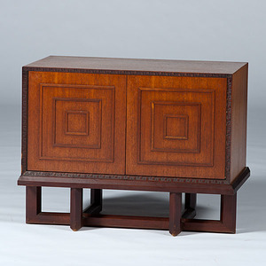 Frank Lloyd Wright Chest On Stand