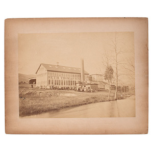 Seth Thomas Sons & Co. Albumen Photograph