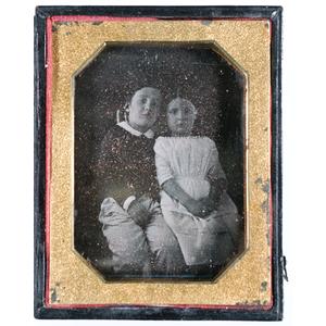 Quarter Plate Daguerreotype of VMI Cadet as Young Boy