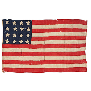 16-Star American National Flag with