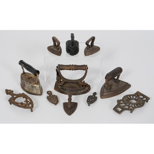 Miniature Cast Iron Sad Irons
