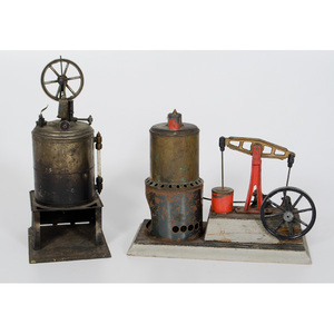 Weeden Mfg. Co. Tin Model Steam Engine, Plus