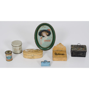Miniature Advertising and Household Tins