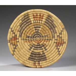 Hopi Tray with Katsina,