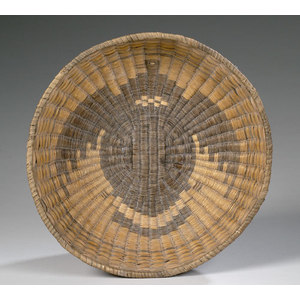 Hopi Third Mesa Wicker Basket,