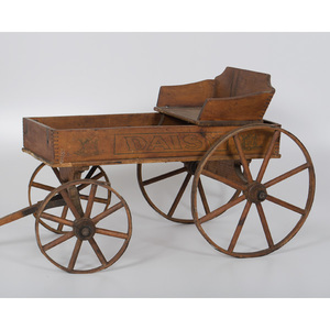 Child's Daisy Buckboard
