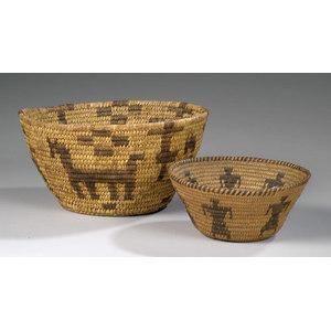 Pima/ Tohono O'odam Baskets,