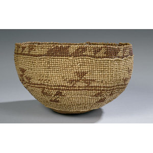 Northern California Twined Bowl,
