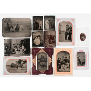 Fine Group of Interesting Tintypes