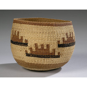 Hupa Polychrome Basket,