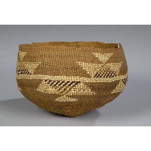 Karok Polychrome Basket,
