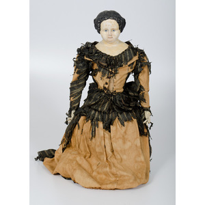 Victorian Composition Doll