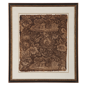 William Henry Harrison Campaign Textile