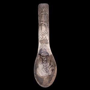 Northwest Coast Silver Spoon