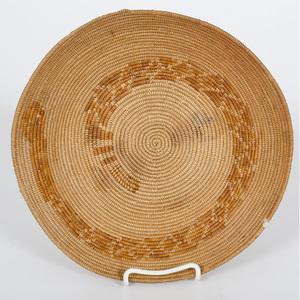 California Mission Cahuilla Basket