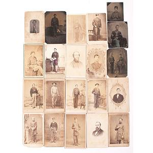 Lot of Civil War-Period Images