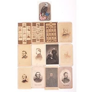 Patriotic & Civil War-Period CDVs of Generals & Politicians