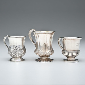 Anglo-Indian Sterling Children's Cups