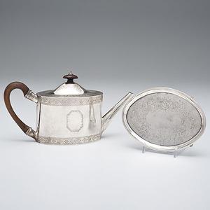 Regency Teapot and Undertray