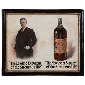 Moxie Nerve Food Advertisements Featuring Theodore Roosevelt