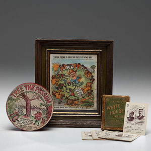 Roosevelt & Taft, Tree the Possum Marble Dexterity Game, Plus Mechanical Puzzle