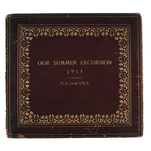 Isaac Seligman, New York Banker, Family Sketchbook, Our Summer Excursion, 1913