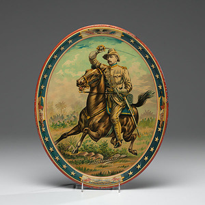 Theodore Roosevelt Rough Rider Serving Tray
