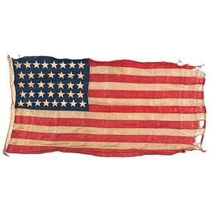 37-Star American National Flag