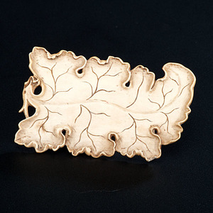 Chinese Ivory Plaque