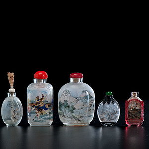 Chinese Interior Painted Snuff Bottles