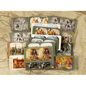 Collection of Native American Stereoviews,