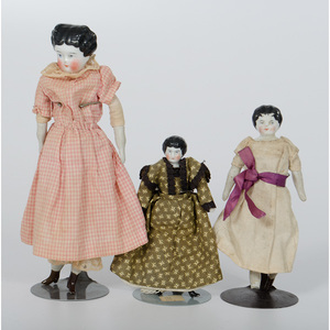 Porcelain Head Dolls