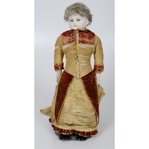 German ABG Bisque Doll