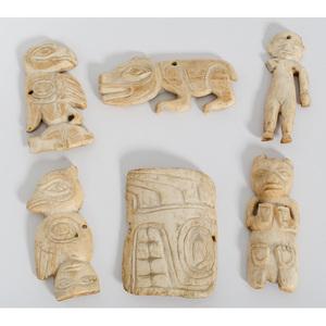 Tlingit Bone Amulets