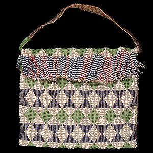 Wasco Loom Beaded Bag