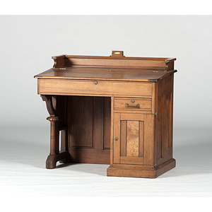 James A. Garfield, Walnut Desk Used While Serving as Ohio Senator
