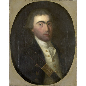 Portrait of a Revolutionary War Era Infantry Officer,