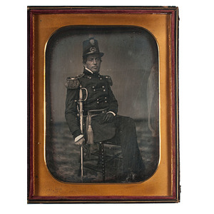 Cased Full Plate Daguerreotype of Post-Mexican War-Era Brigadier General, Possibly Persifor F. Smith
